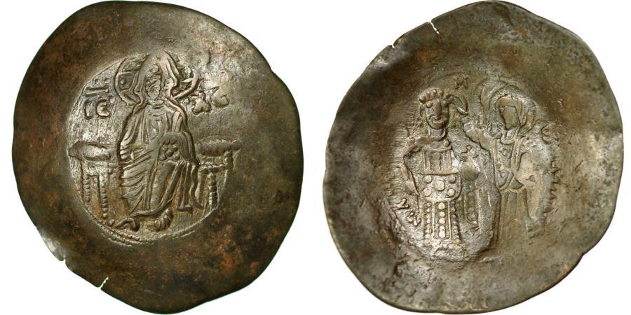 Ancient Coins - Coin, Manuel I Comnenus, Aspron trachy, Constantinople, EF(40-45), Billon