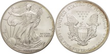 Us Coins - United States, Dollar, 2001, U.S. Mint, Philadelphia, MS(65-70), Silver, KM:273
