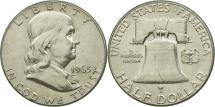 Us Coins - United States, Franklin Half Dollar, Half Dollar, 1963, U.S. Mint, Philadelphia