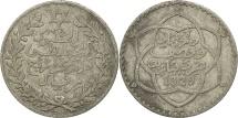 Morocco, 'Abd al-Hafiz, 1/4 Rial, 2-1/2 Dirhams, 1911, bi-Bariz, Paris