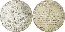 Us Coins - United States, Dollar, D Day, 1995, Denver, MS(65-70), Silver, KM:244