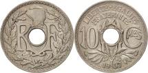 World Coins - France, Lindauer, 10 Centimes, 1937, AU(50-53), Copper-nickel, KM:866a