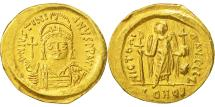 Justinian I, Solidus, Constantinople, AU(50-53), Gold, Sear:140