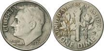Us Coins - United States, Roosevelt Dime, Dime, 1970, U.S. Mint, Denver, EF(40-45)