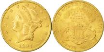 Us Coins - United States, Liberty Head, $20, 1894, Philadelphia, AU(55-58), Gold, KM:74.3