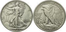 Us Coins - United States, Franklin Half Dollar, Half Dollar, 1943, U.S. Mint, Philadelphia