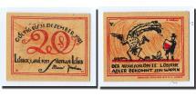 World Coins - Germany, Lübeck, 20 Pfennig, oiseaux 3, 1921, 1921-04-01, UNC(63), Mehl:831.1