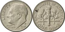 Us Coins - United States, Roosevelt Dime, Dime, 1996, U.S. Mint, Denver, AU(55-58)