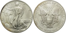Us Coins - United States, Dollar, 1995, U.S. Mint, Philadelphia, MS(60-62), Silver, KM:273