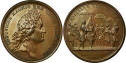 World Coins - France, Medal, Louis XIV, Etablissement de compagnies de Cadets, 1682, Mauger