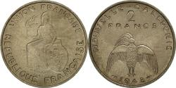 World Coins - Coin, New Caledonia, 2 Francs, 1948, Paris, MS(60-62), Nickel-Bronze, KM:E6