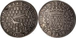 World Coins - France, Token, Royal, Louis XIV, états de Bretagne, hermine, , Silver