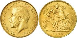 World Coins - Coin, South Africa, George V, 1/2 Sovereign, 1925, , Gold, KM:20