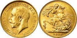 World Coins - Coin, Australia, George V, Sovereign, 1918, Sydney, , Gold, KM:29