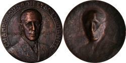 Us Coins - United States of America, Medal, Wodrow Wilson, Champion du Droit et de
