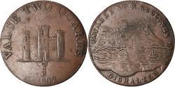 World Coins - Coin, Gibraltar, 2 Quarts, 1802, , Copper, KM:Tn2.2