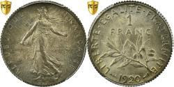 Ancient Coins - Coin, France, Semeuse, Franc, 1920, Paris, PCGS, MS65, Silver, KM:844.1, graded