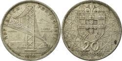 World Coins - Coin, Portugal, 20 Escudos, 1966, Lisbon, , Silver, KM:592
