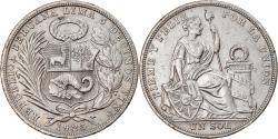 World Coins - Coin, Peru, Sol, 1923, Philadelphia, , Silver, KM:218.1