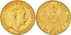 Ancient Coins - Coin, German States, PRUSSIA, Wilhelm II, 20 Mark, 1901, Berlin, MS(60-62)