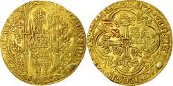 World Coins - Coin, France, Charles V, Franc à pied, Trou rebouché, , Gold