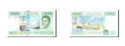 World Coins - Cameroun, 5000 Francs, 2002, Undated, KM:209U, UNC(63)