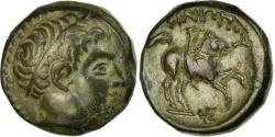 Ancient Coins - Coin, Kingdom of Macedonia, Philippe II (359-336 BC), Apollo, Bronze