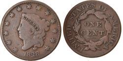 Us Coins - Coin, United States, Coronet Cent, Cent, 1828, U.S. Mint, Philadelphia