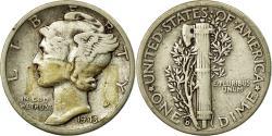 Us Coins - Coin, United States, Mercury Dime, Dime, 1943, U.S. Mint, Denver,