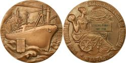 World Coins - France, Medal, Union Patronale Interprofessionnelle de Marseille, Shipping