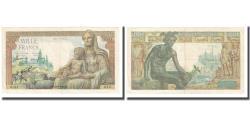 World Coins - France, 1000 Francs, 1942, 1942-05-28, EF(40-45), Fayette:40.1, KM:102