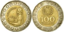 World Coins - Coin, Portugal, 100 Escudos, 1990, , Bi-Metallic, KM:645.2