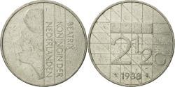 World Coins - Coin, Netherlands, Beatrix, 2-1/2 Gulden, 1988, , Nickel, KM:206