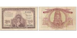 World Coins - Banknote, New Caledonia, 100 Francs, 1942, Undated (1942), KM:44, VF(20-25)