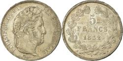 World Coins - Coin, France, Louis-Philippe, 5 Francs, 1832, Bordeaux, , Silver