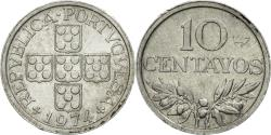 World Coins - Coin, Portugal, 10 Centavos, 1974, , Aluminum, KM:594