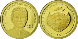 World Coins - Coin, Palau, Don Bosco, Dollar, 2009, CIT, Proof, , Gold, KM:239