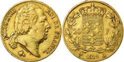 World Coins - Coin, France, Louis XVIII, 20 Francs, 1819, Paris, , Gold