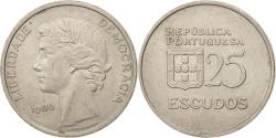 World Coins - Portugal, 25 Escudos, 1980, Lisbon, , Copper-nickel, KM:607a