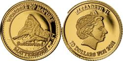 World Coins - Coin, Fiji, Elizabeth II, 10 Dollars, 2011, , Gold, KM:298