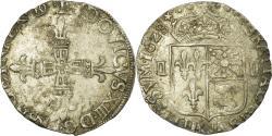 World Coins - Coin, France, Louis XIII, 1/4 Écu de Béarn, 1/4 Ecu, 1628, Morlaas,