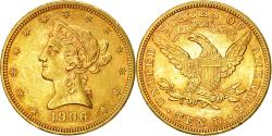 Us Coins - Coin, United States, Coronet Head, $10, 1906, Philadelphia,,Gold,KM 102