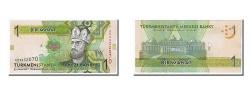 World Coins - Turkmenistan, 1 Manat, 2009, KM #22a, UNC(65-70), AD3932070