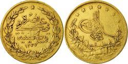 World Coins - Coin, Turkey, Abdul Aziz, 100 Kurush, 1865/AH1277, Qustantiniyah,