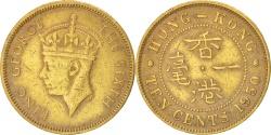 World Coins - HONG KONG, 10 Cents, 1950, KM #25, , Nickel-Brass, 20.5, 4.49
