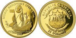 World Coins - Coin, Liberia, Moric Benovsky, 25 Dollars, 2005, Proof, , Gold