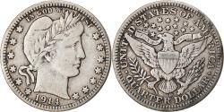 Us Coins - Coin, United States, Barber Quarter, Quarter, 1914, U.S. Mint, Denver