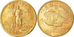 Us Coins - Coin, United States, Saint-Gaudens, $20, Double Eagle, 1908, U.S. Mint