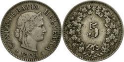 World Coins - Coin, Switzerland, 5 Rappen, 1925, Bern, , Copper-nickel, KM:26