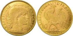 World Coins - Coin, France, Marianne, 10 Francs, 1911, Paris, , Gold, KM:846